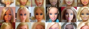 Evolution Of Barbie 56 Years