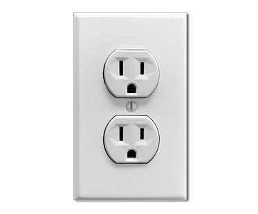 Fake Electric Outlet Sticker home