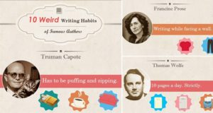 Famous Authors Weird Writing Habits