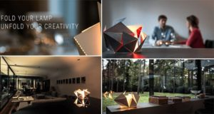 Folding Lamp Thomas Hick