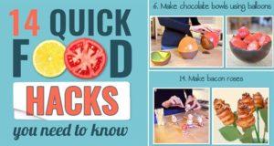 Food Tricks Hacks