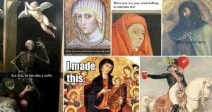 Funny Interpretations Of Classical Paintings