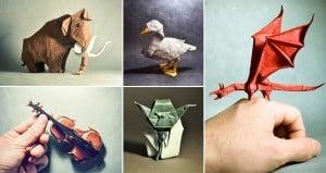 Gonzalo Garcia Calvo Origami Art