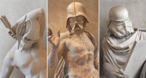 Greek Sculptures Star Wars Characters Travis Durden