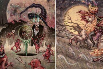 Halloween Illustrations Marcelo Gallegos