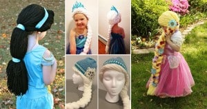Holly Christensen Disney Wigs Kids With Cancer