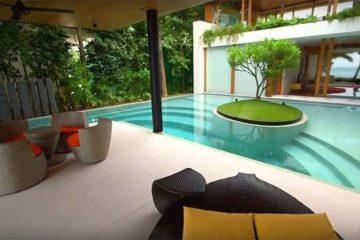 House Design Underwater Media Room