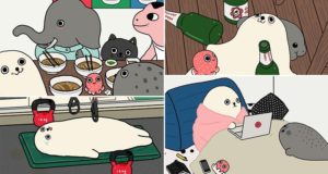 Illustrations Seal Wang Fanqiao Art