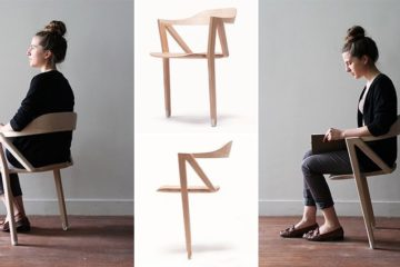 Inactive Two-Legged Chair Benoit Malta