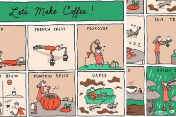 Incidental Comics Coffee Cartoon Strip