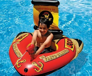 Inflatable Pirate Ship With Squirter