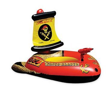 Inflatable Pirate Ship With Squirter boat