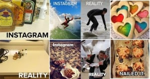Instagram Expectation Vs Reality