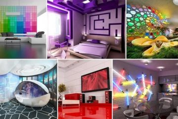 Interior Design Futuristic Rooms