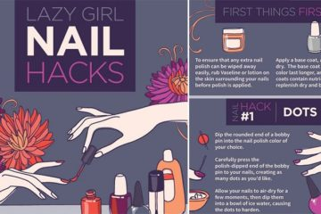 Lazy Girl Nail Hacks