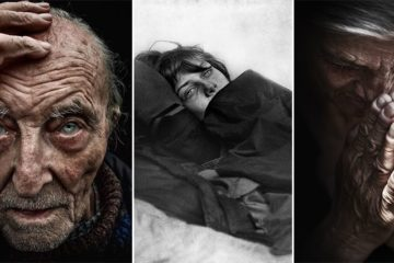 Lee Jeffries Photography Homeless People Series