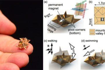 Mini Origami Robot