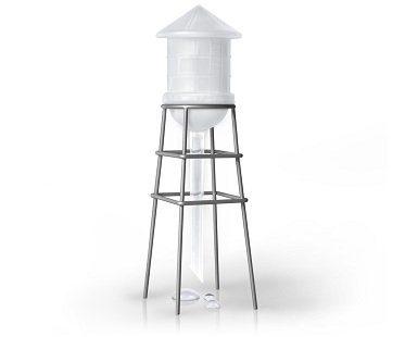 Mini Plant Water Tower self watering