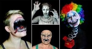 Nikki Shelley Monster Faces