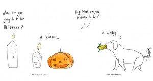 Ornuma Panmunee Halloween Illustrations