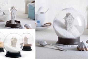 Peleg Design Snow Globe Sugar Dispenser