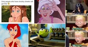 Relateable Disney Characters