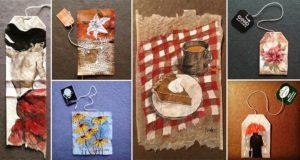 Ruby Silvious 363 Days Of Tea Bags Art