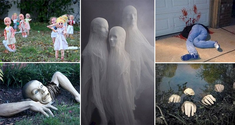 11 horrifying halloween decorations designed to scare - Terrifying Halloween Decorations