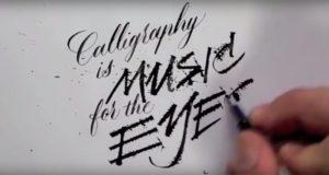 Seb Lester Calligraphy Art