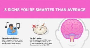 Signs You Might Be Smart