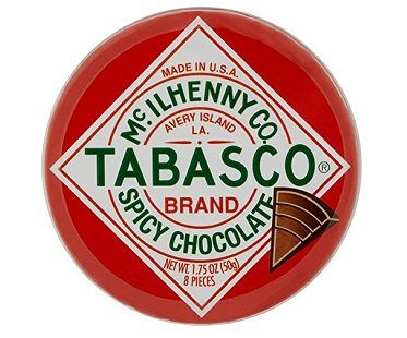 Spicy Dark Cocolate Wedges tabasco