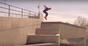 Spider-Man Parkour