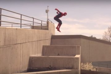 Spider-Man Parkour