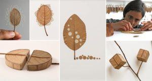 Susanna Bauer Leaves Art Crotchet Work
