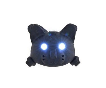 Talking Cat Bike Light black