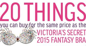 Things That Cost Same Price Victoria's Secret 2015 Fantasy Bra