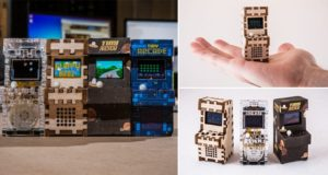 Tiny Arcade Smallest Playable Retro Gaming Cabinet