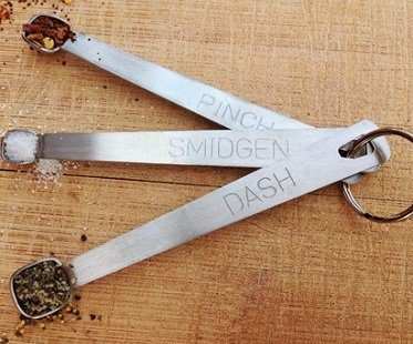 Tiny Measuring Spoons dash