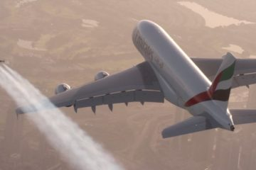 Vince Reffet And Yves Rossy Jet Packs Airbus A380