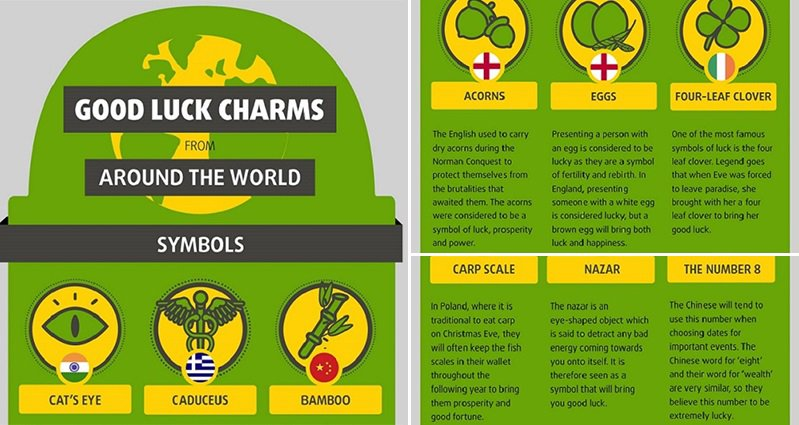 23 Strange Good Luck Charms From Around The World