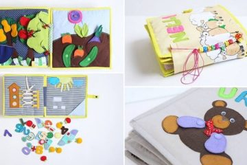Zivile Serviene Children's Felt Cotton Busy Books