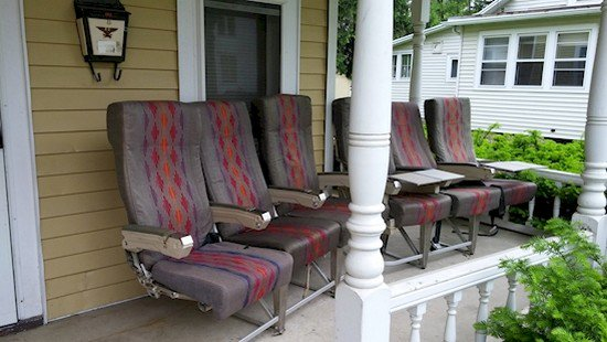 airline seating porch