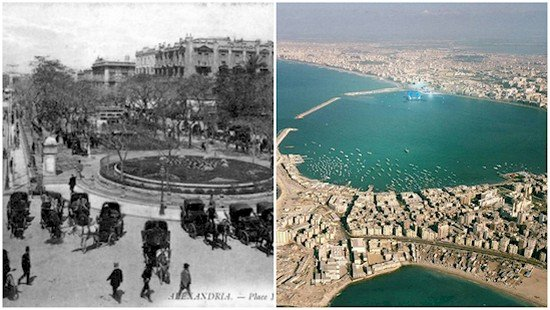 alexandria then and now