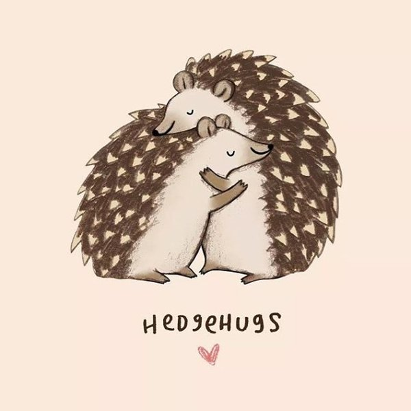 animal-puns-hedgehugs