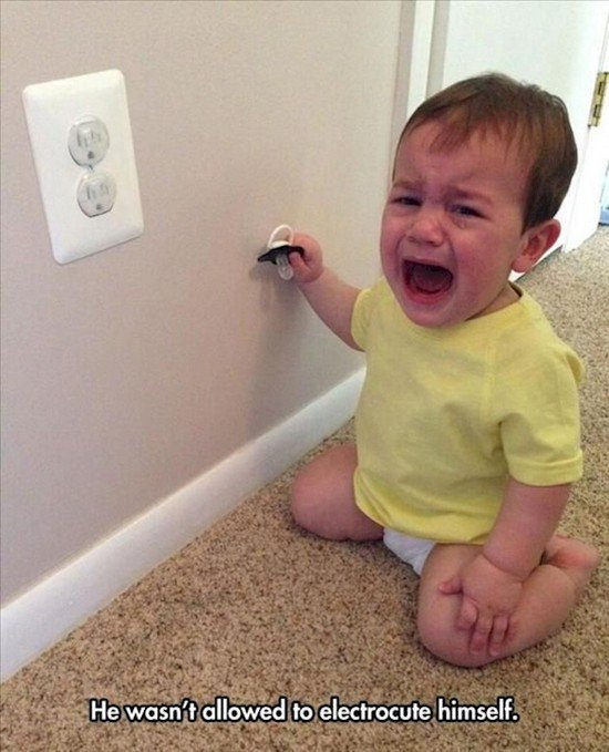 baby crying power points