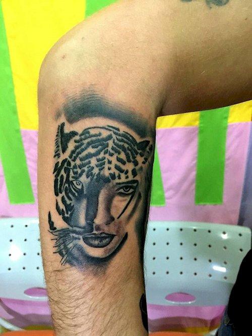 刺青 纹身 500_666 竖版 竖屏