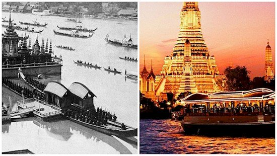 bangkok thailand then and now