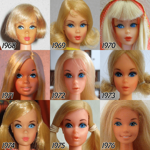 barbie-evolution-1968-1976
