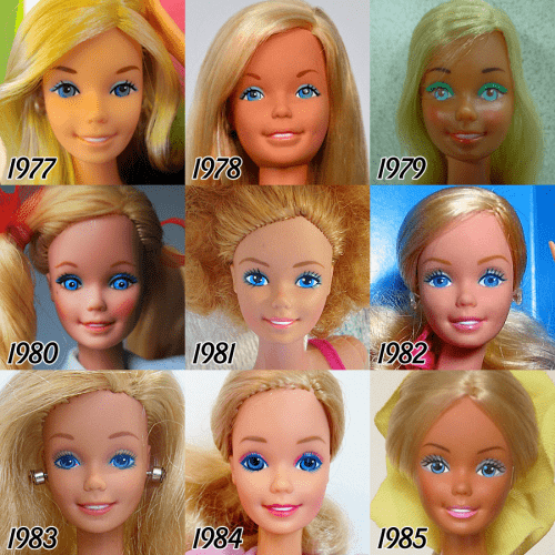 barbie-evolution-1977-1985