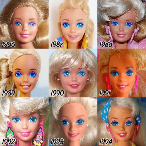 barbie-evolution-1986-1994